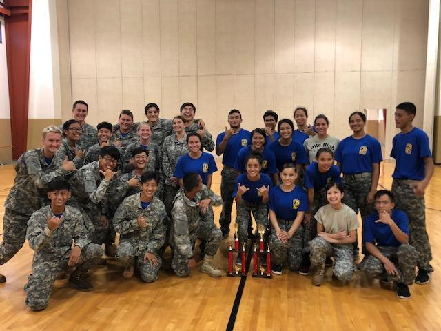 Viking JROTC Team Earns First Place Featured Photo