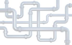 cartoon pipes