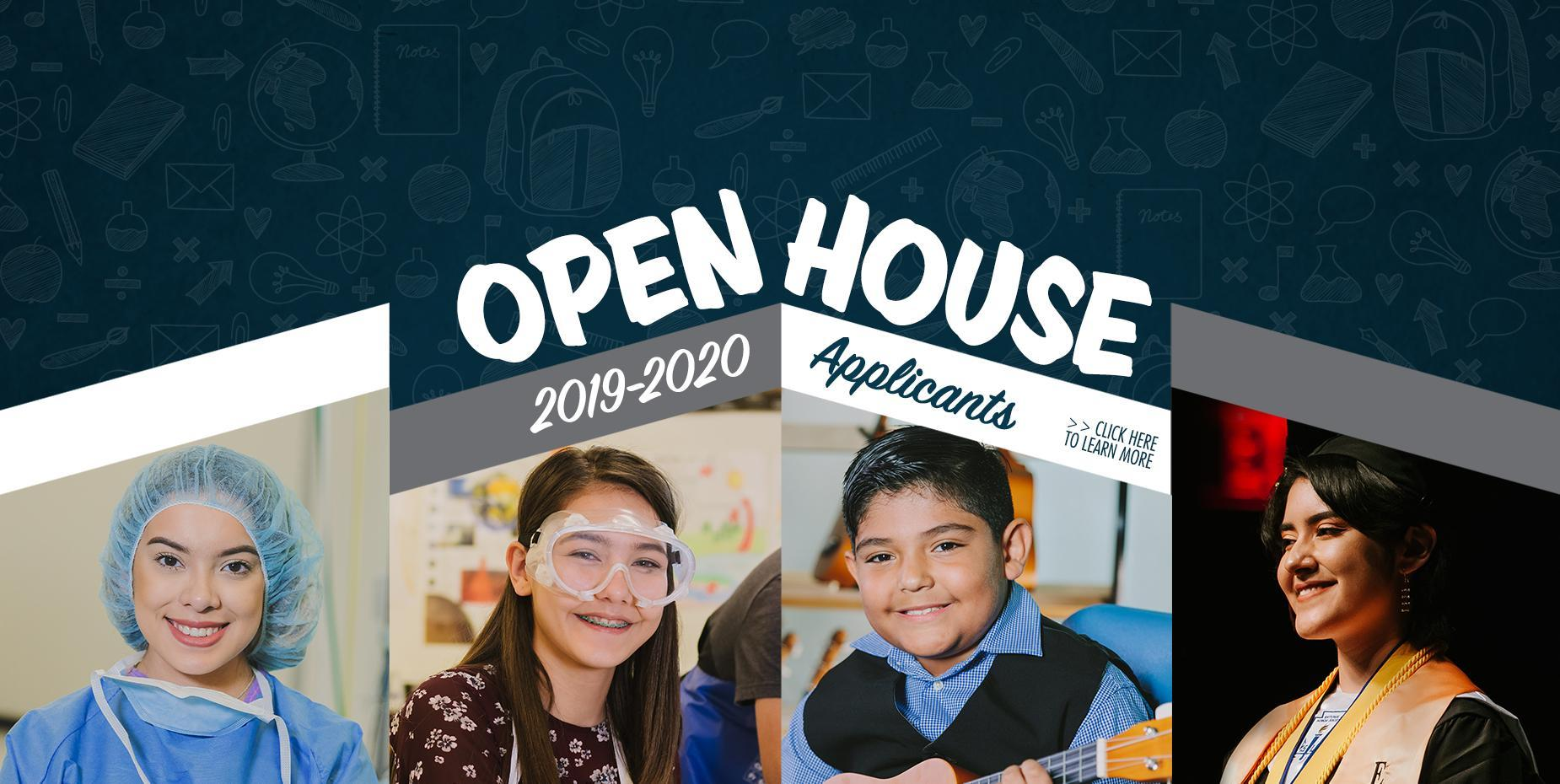 Open House for 2019-2020 Applicants