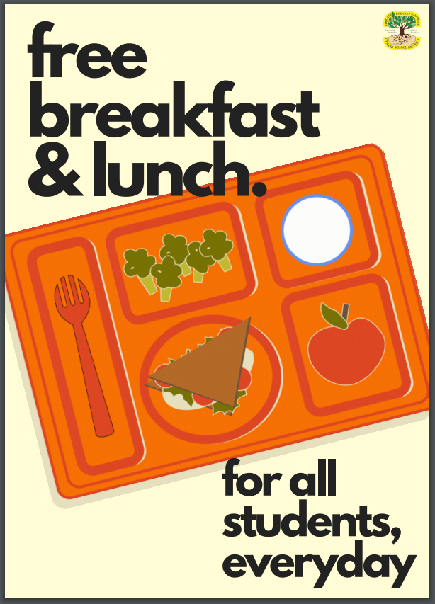 Free breakfasts and lunches for students