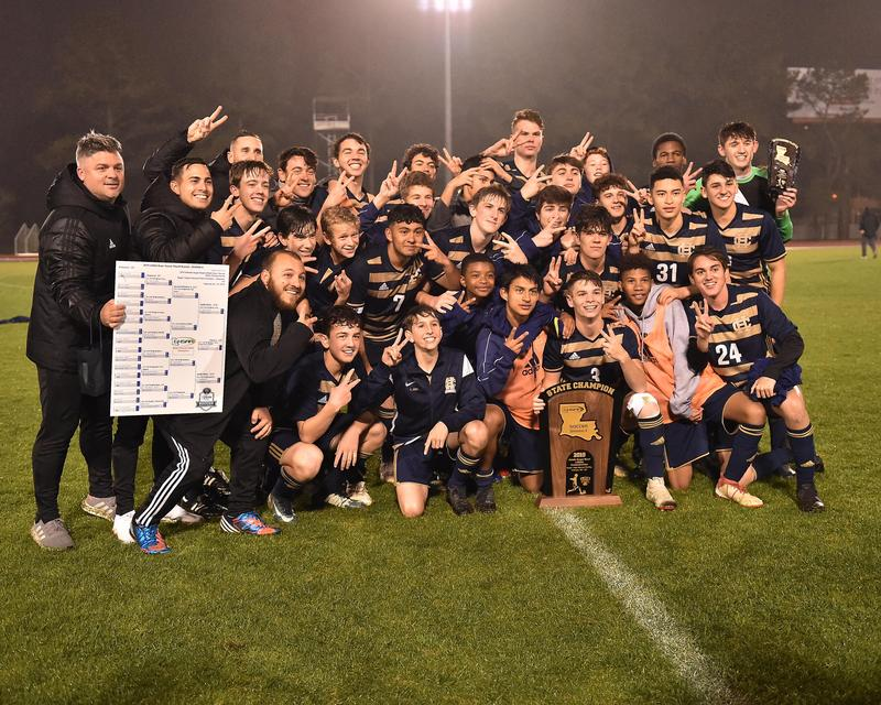 Soccer Wins Second Straight Division II Soccer Title Featured Photo