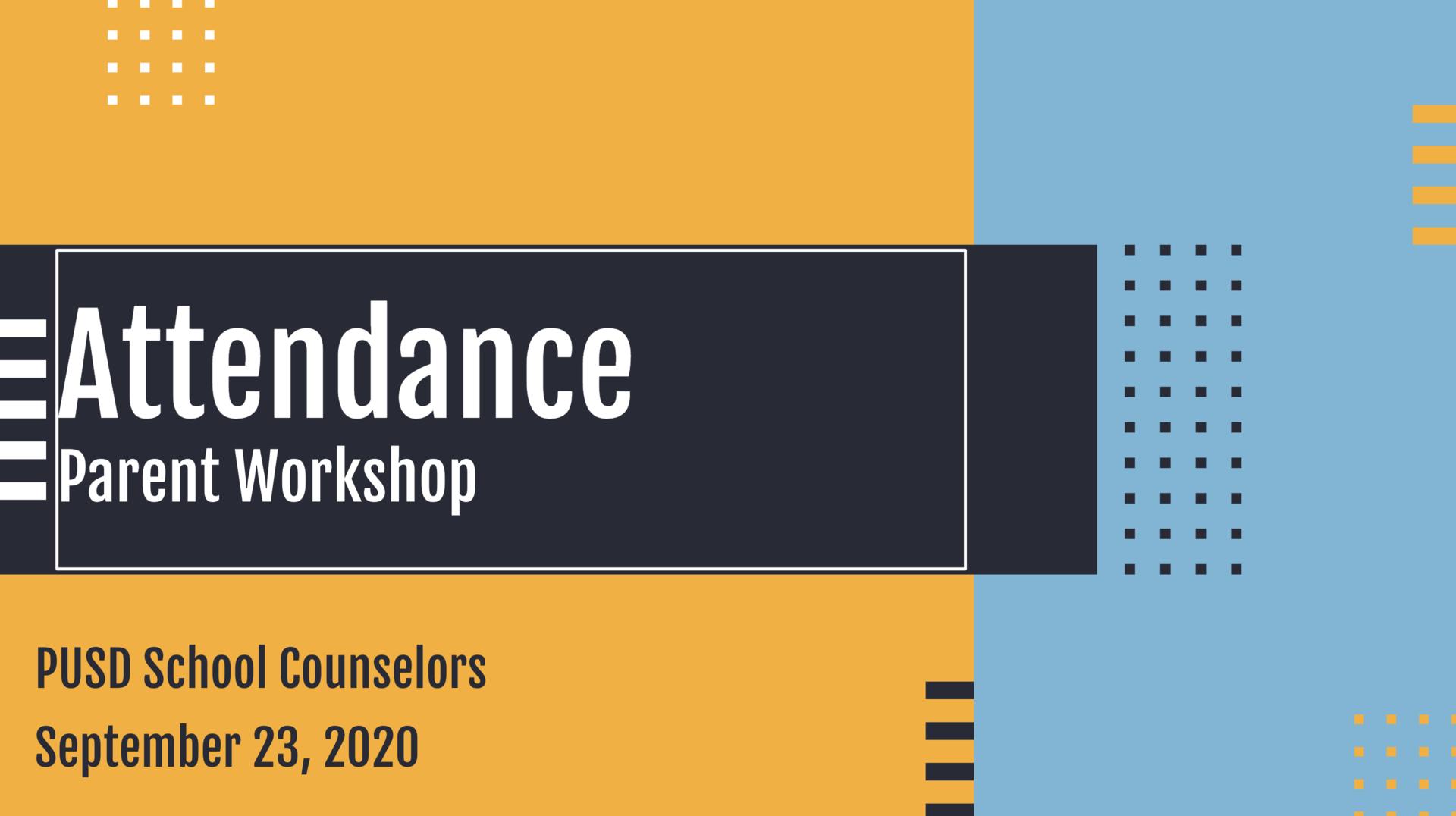 Attendance Workshop logo