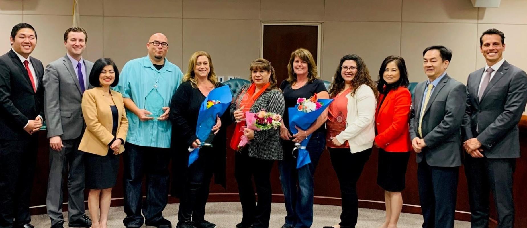Congratulations to our Classified Employees of the Year!