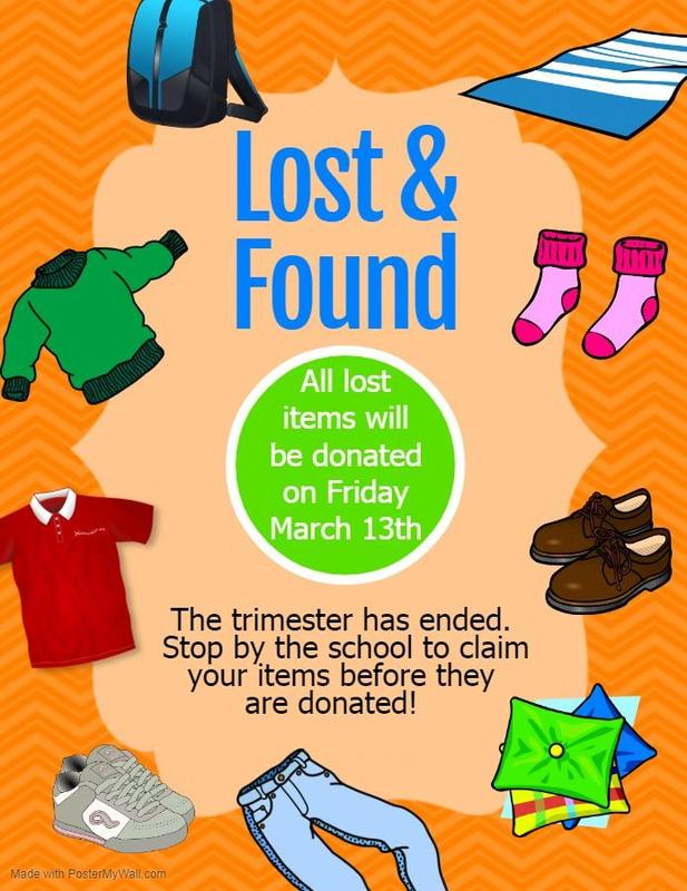 flyer for lost and found