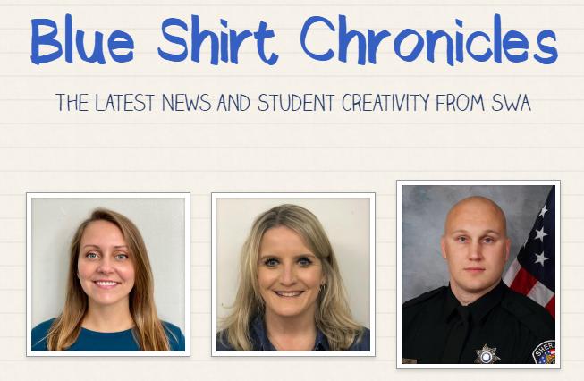 Blue Shirt Chronicles pg. 1