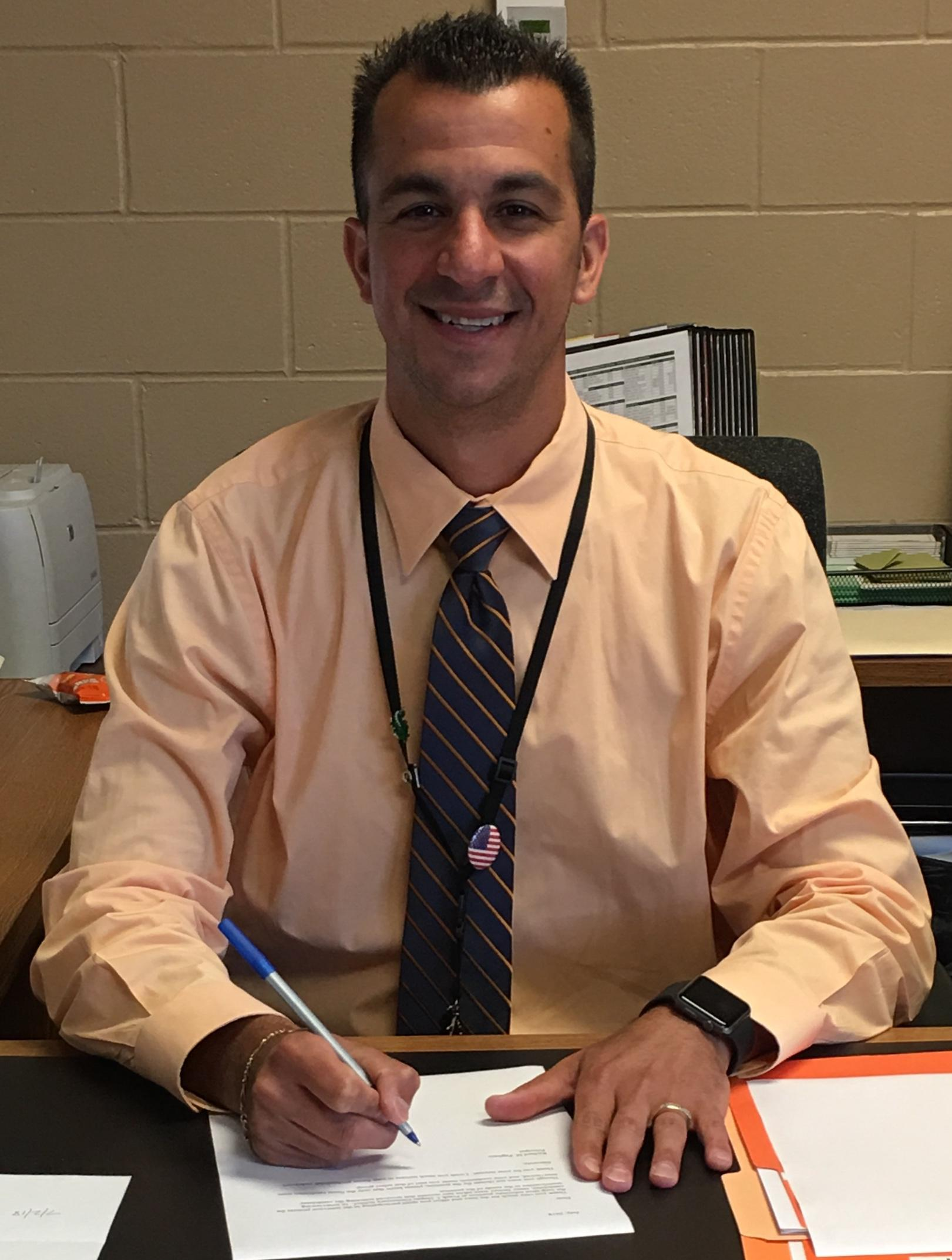 photo of Richard Pagliaro, Principal - Frank J. Dugan Elementary School