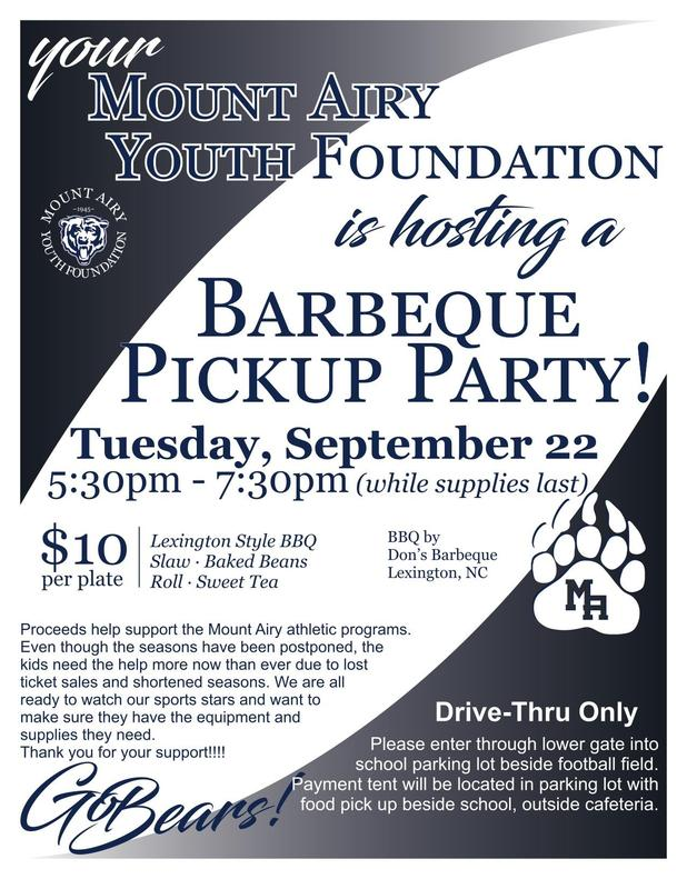 BBQ Pickup Party