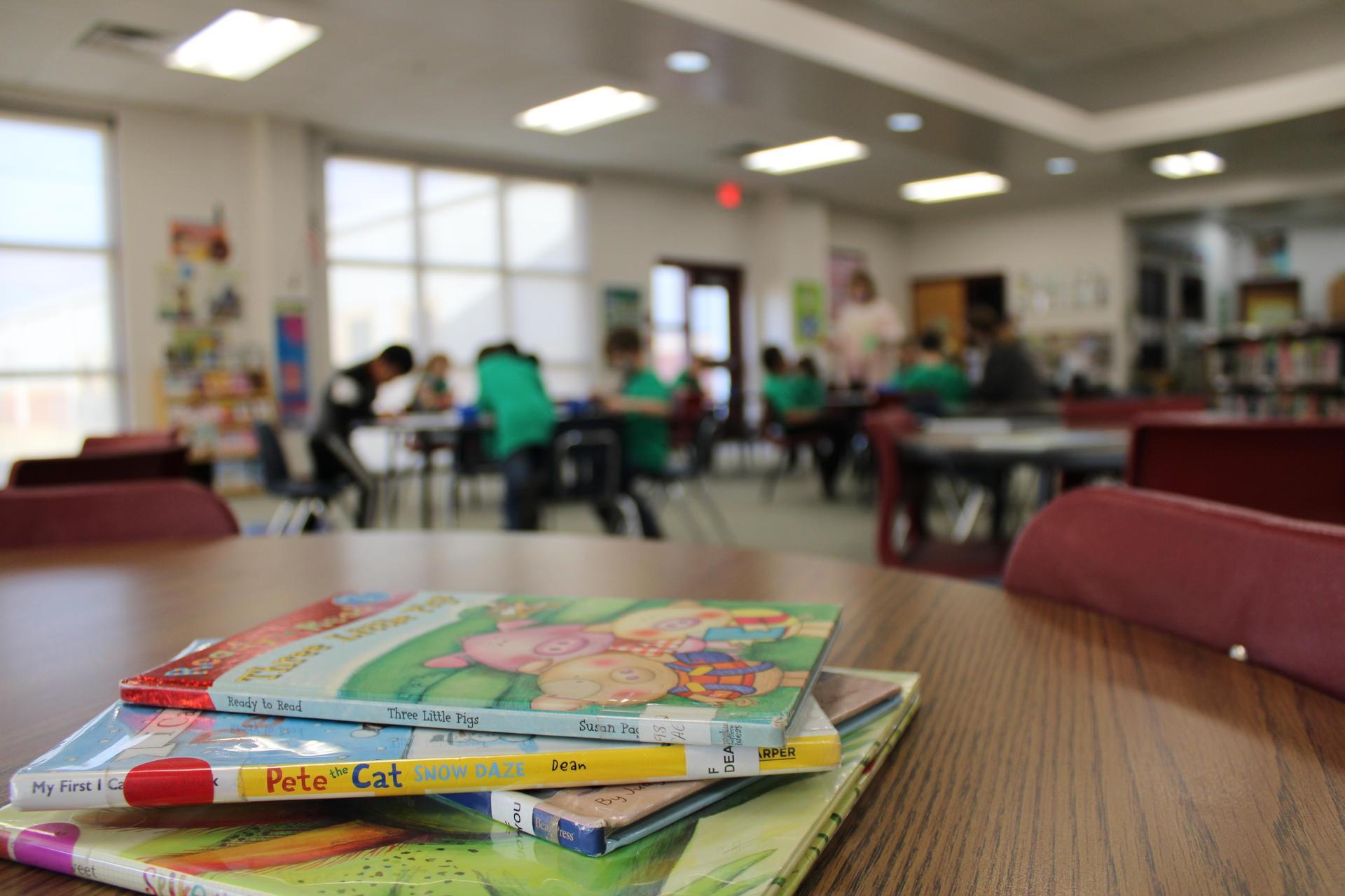 junior high library