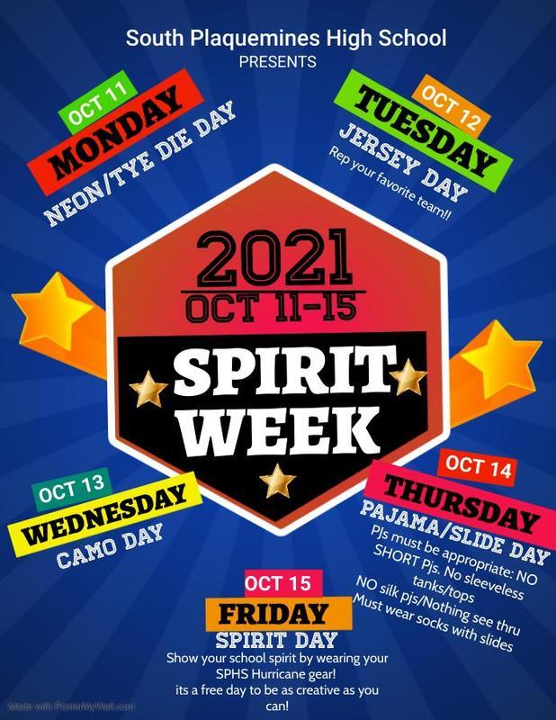 SPHS Spirit Week Thumbnail Image