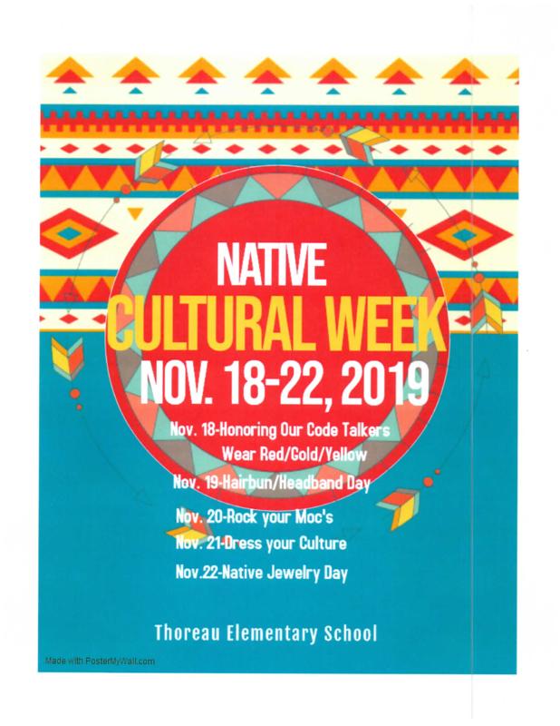Native Cultural Week: November 18-22, 2019 Featured Photo