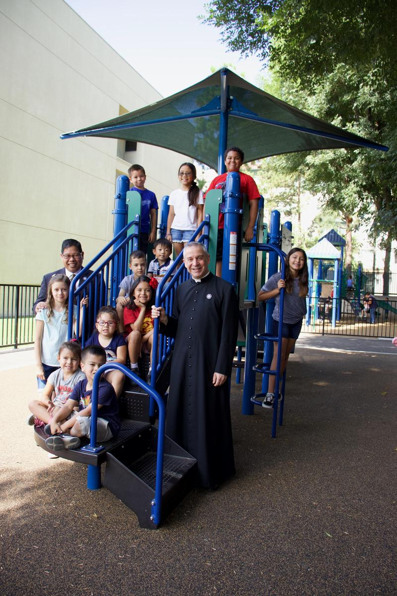 St. Andrew Catholic School Welcomes Our New Pastor, Fr. Marcos Gonzalez Featured Photo