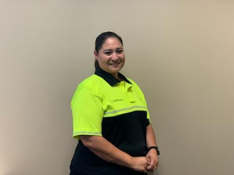WSISD Security Officer Gloria Rodriguez