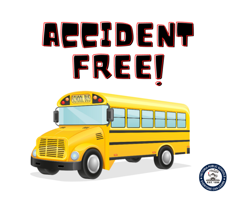 VISD Transportation Department is Accident Free this School Year Thumbnail Image