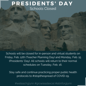 Presidents' Day Graphic