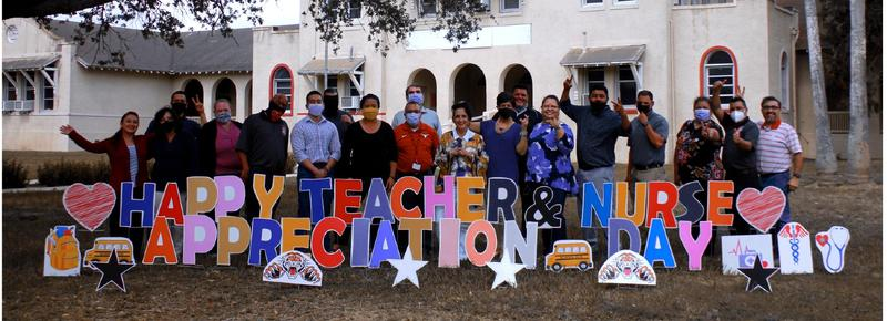 Teacher and Nurse appreciation Week! Featured Photo
