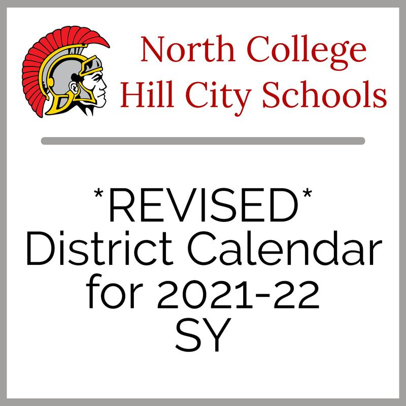 Revised district calendar for 2021-22 SY Logo