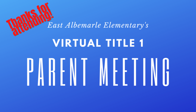 November 17th Title 1 Parent Meeting Featured Photo