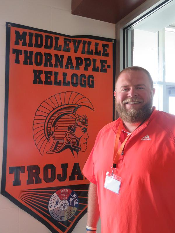 Brian Hammer takes over as the district's new athletic director.