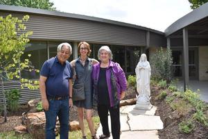 Blessing of VM Statue.JPG