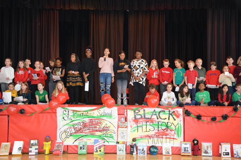 Black History Assembly @SB Featured Photo