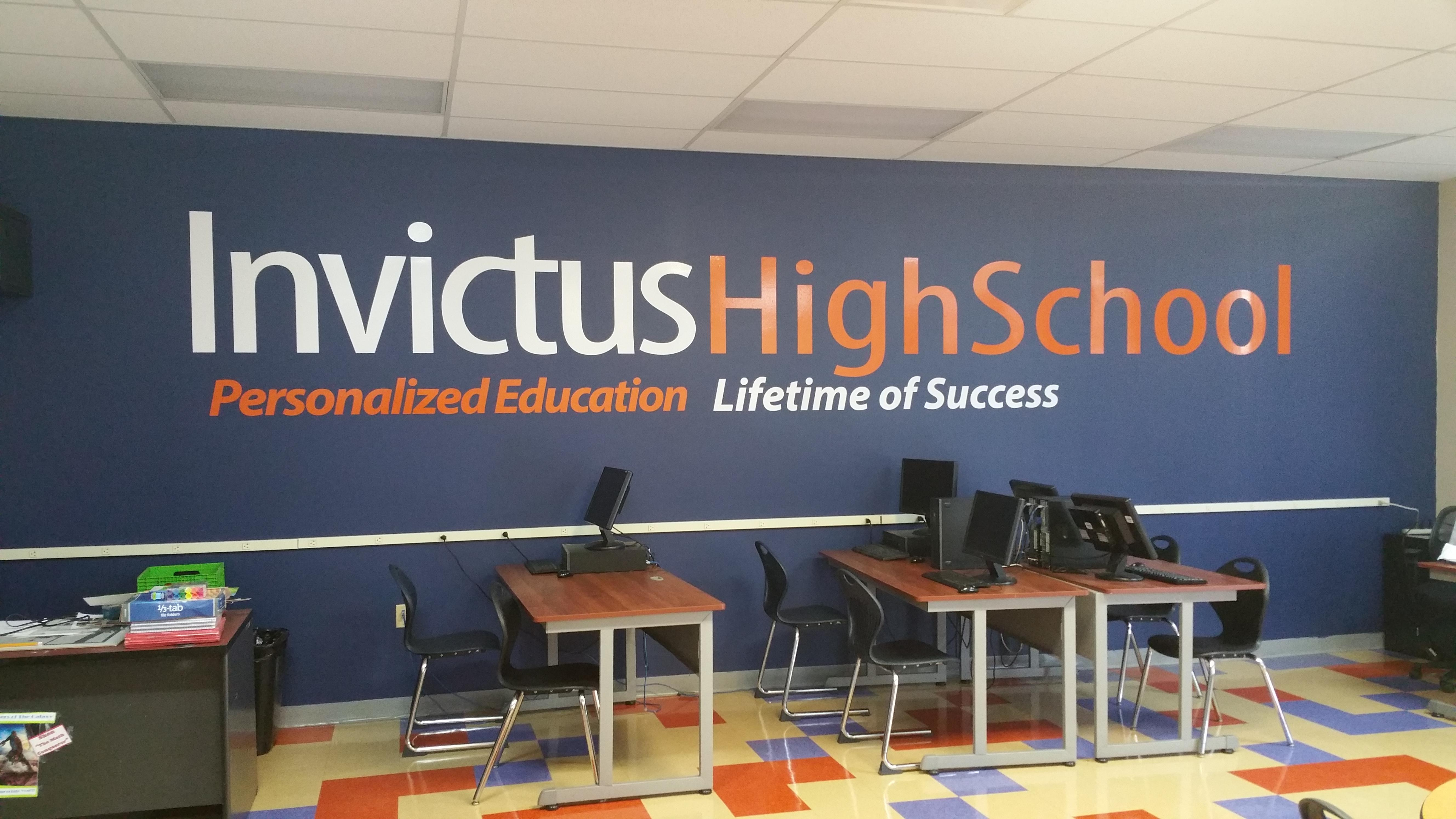Invictus High School Classroom