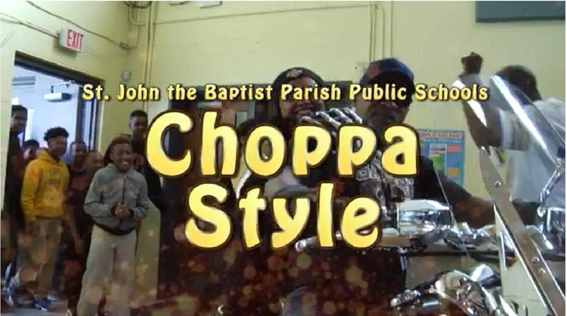 St. John does it Choppa Style! Thumbnail Image