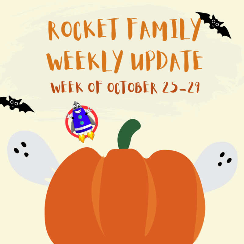 Rocket Family Weekly Update: October 25-29 Featured Photo