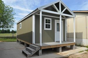 FOR SALE 2019 TINY HOUSE BUILT BY LAPOYNOR ISD HIGH SCHOOL GEOMETRY IN CONSTRUCTION CLASS