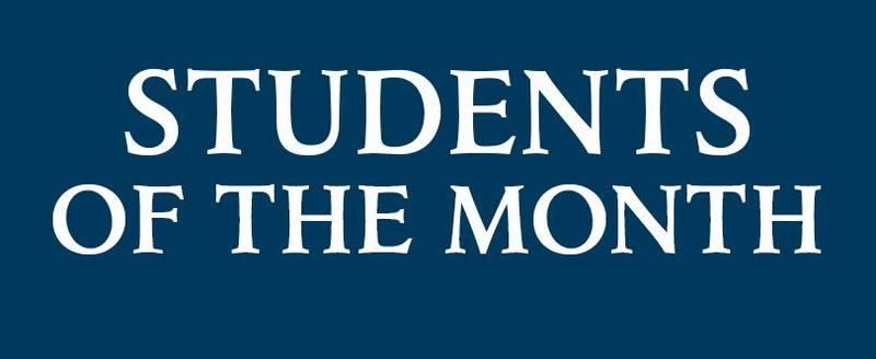Student Life selects Students of the Month Thumbnail Image