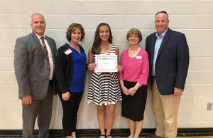 Congratulations Goshen Education Foundation Scholarship Award winner Erin Ashley!