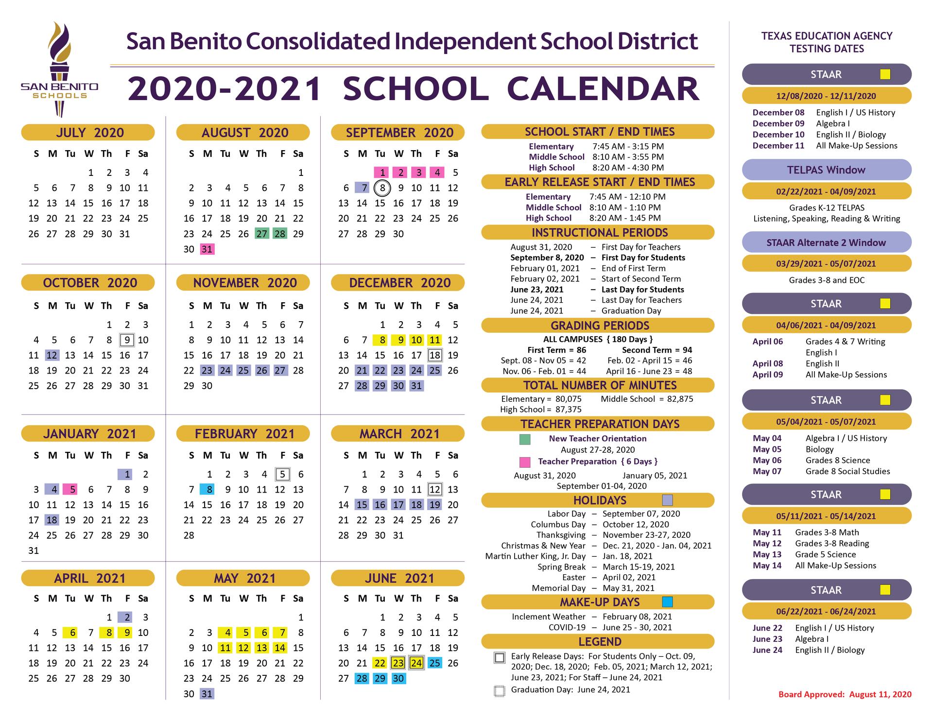Sbisd Calendar 2022.Miller Jordan Middle School