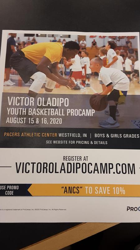Oladipo Camp Information