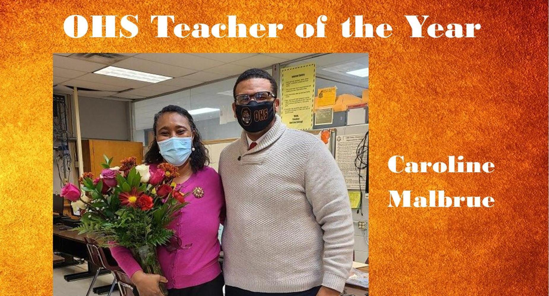 OHS Teacher of the Year