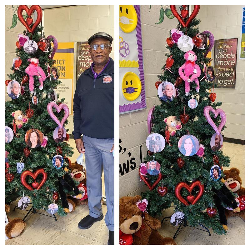 Black History Tree Collage