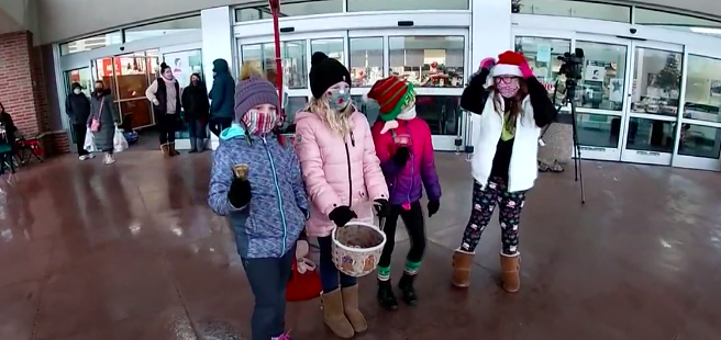 Eugene Field Students Volunteer as Bell Ringers for Salvation Army Featured Photo