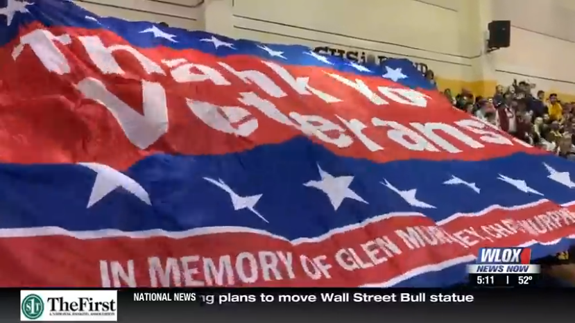 Thank you Veterans banner