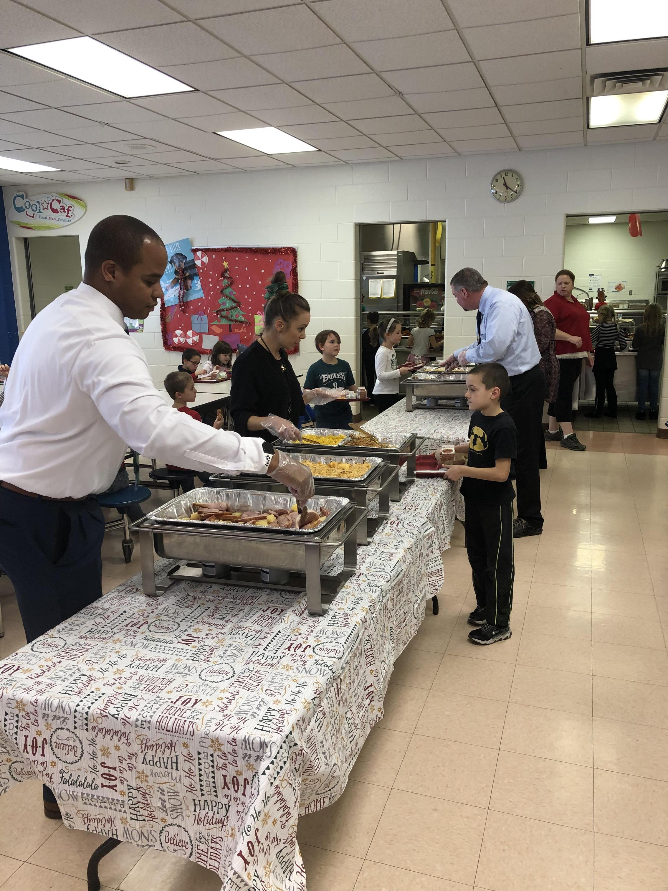 Holiday Lunches