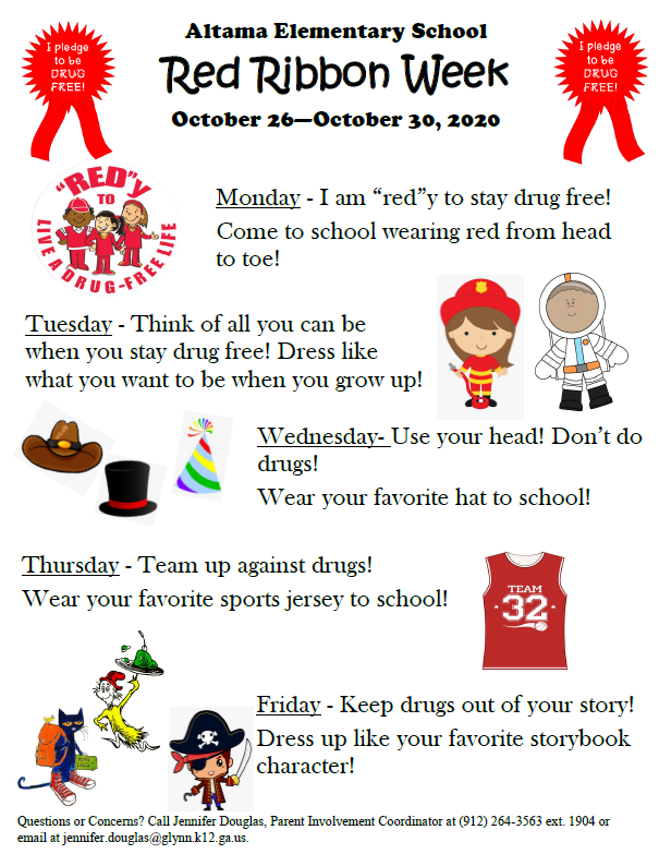 Red Ribbon Week 2020! Featured Photo