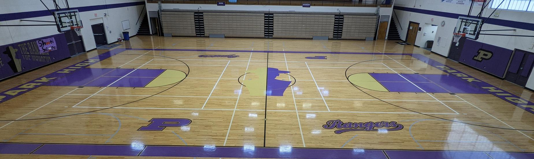 Empty PHS Gymnasium