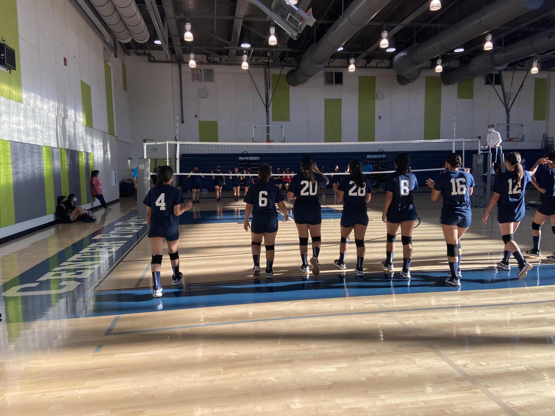 2021-2022 Girls Volleyball Team
