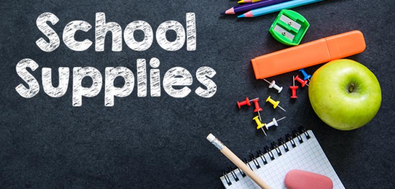 JH School Supplies List Thumbnail Image