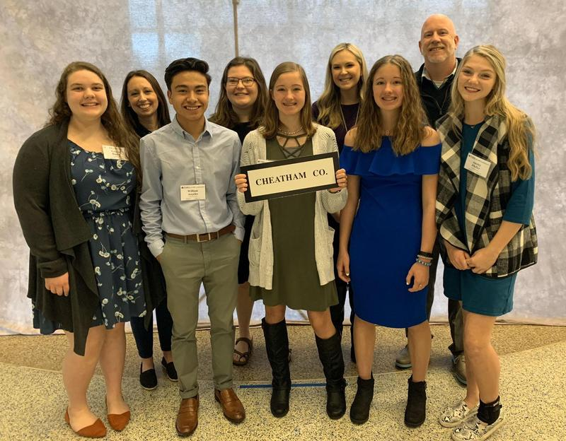 The Tennessee School Boards Association's Student Congress on Policies in Education (SCOPE) conference.
