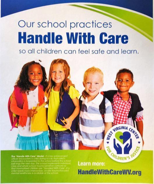 Flyer for Handle with Care information