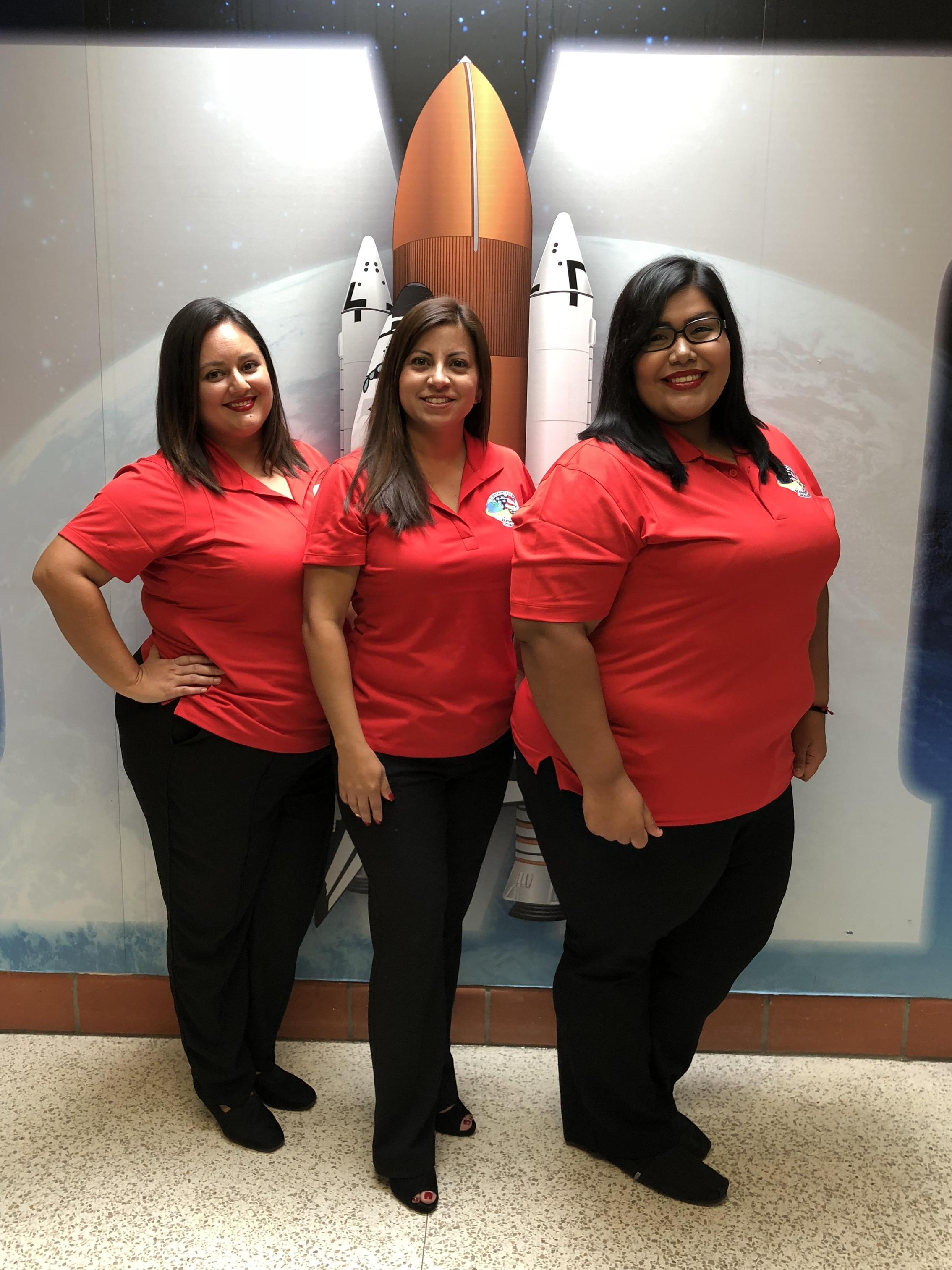Mrs. Hanley, Mrs. Ortega, Mrs. Martinez