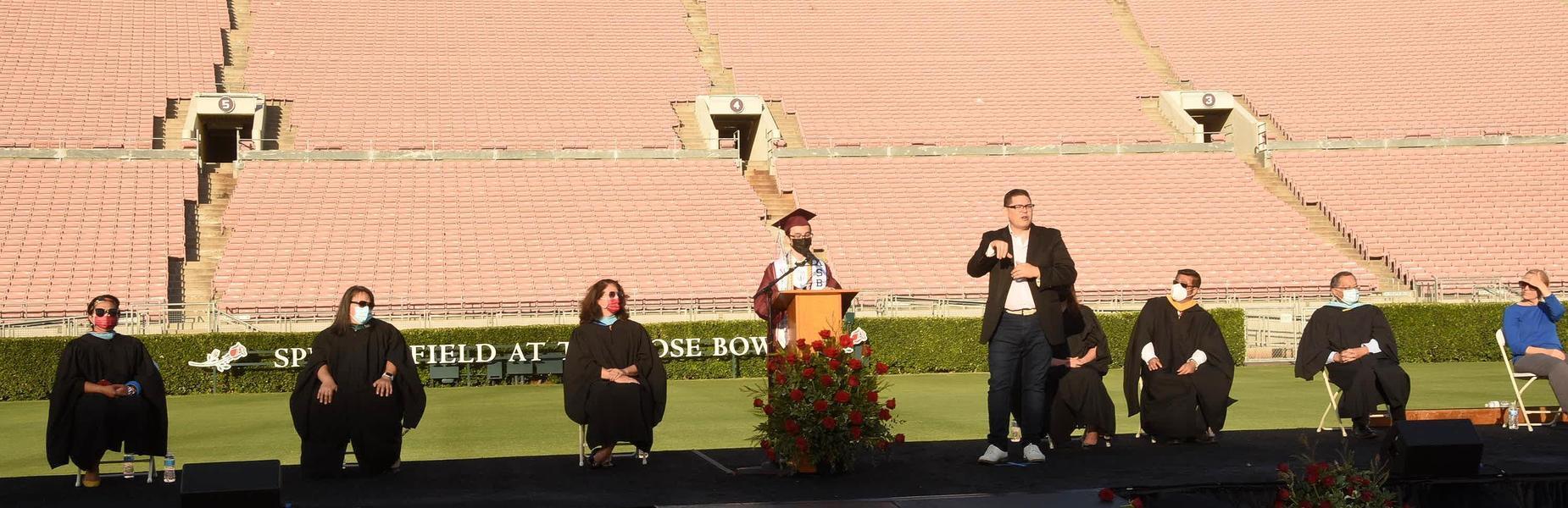 Grad student speaker