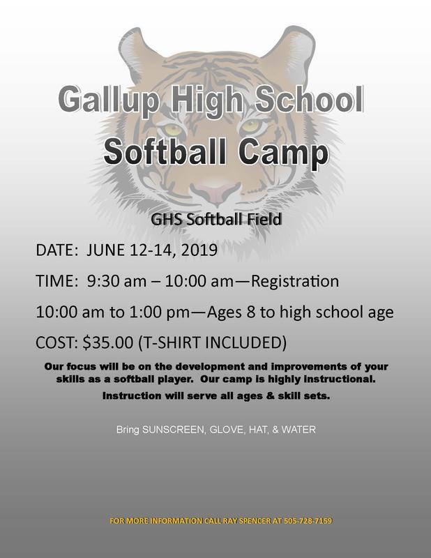 GHS Softball Camp