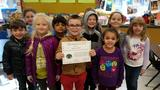 Star student of the Month and classmates