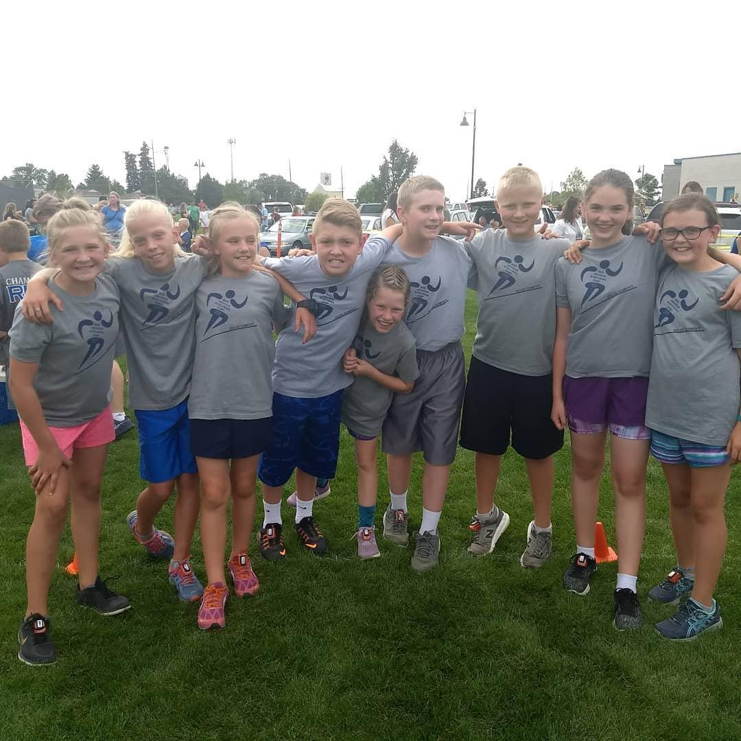 Jr High Cross Country Team