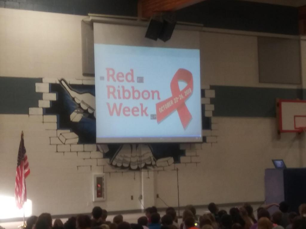 Red Ribbon Assembly