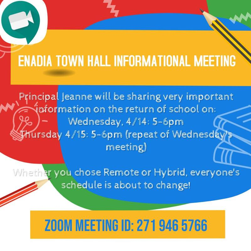 ENADIA TOWN HALL INFORMATIONAL MEETING Featured Photo